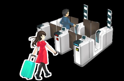 澳门及韩国两地居民可使用对方自助过关通道入出境