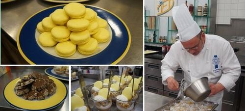 法国蓝带厨艺学院在1895年於巴黎成立教授传统法国菜烹调技术.