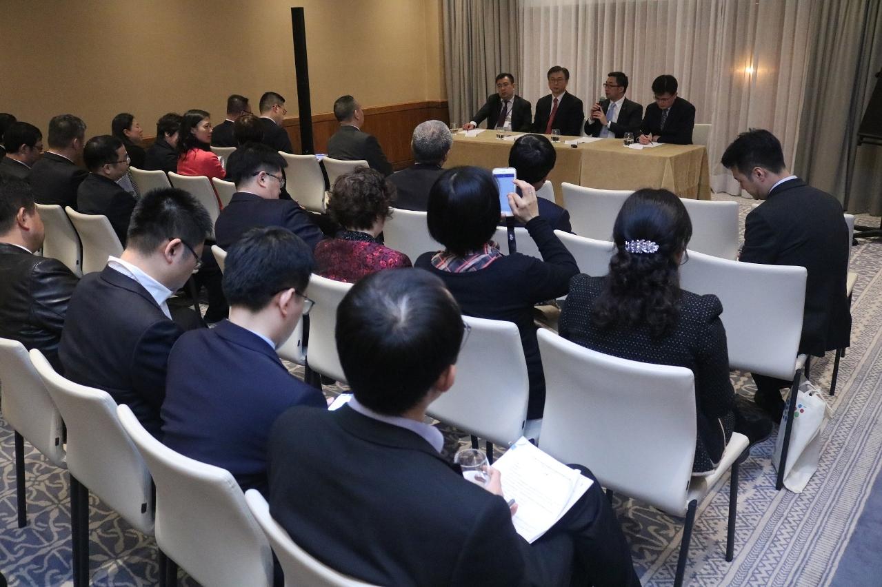 泛珠9+2省區代表葡萄牙及盧森堡商務交流團成員分享箇中心得