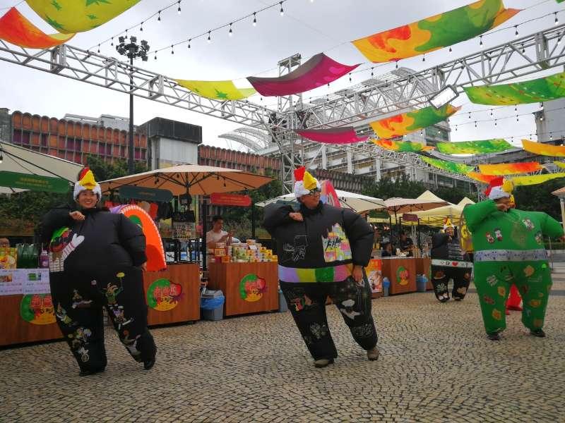 葡國公雞舞表演為活動揭開序幕