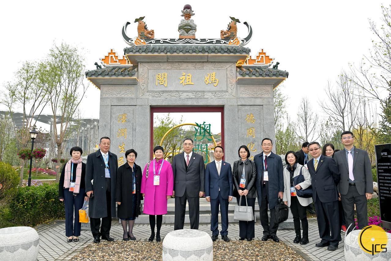 行政�L官崔世安出席2019北京世�@���_幕式