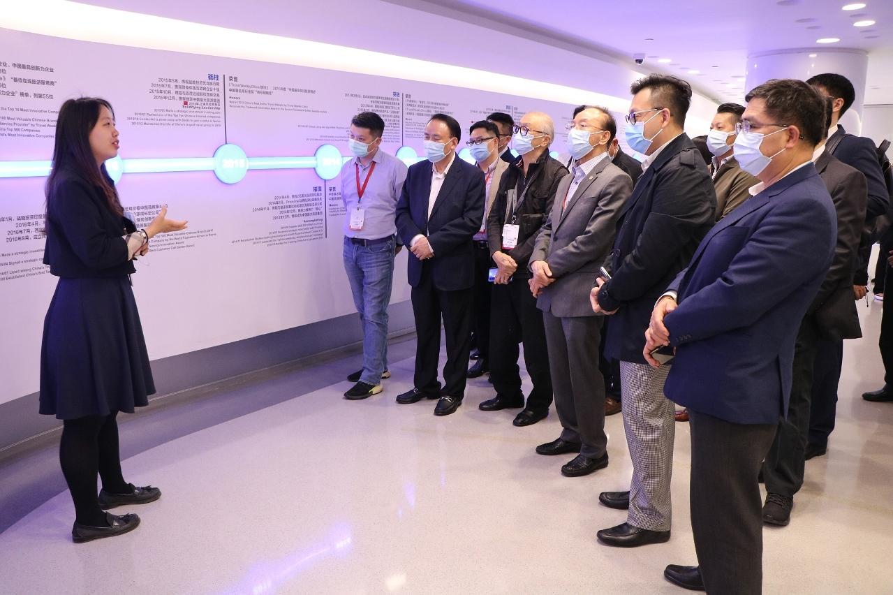 澳门企业家代表团在上海期间展开多场考察活动
