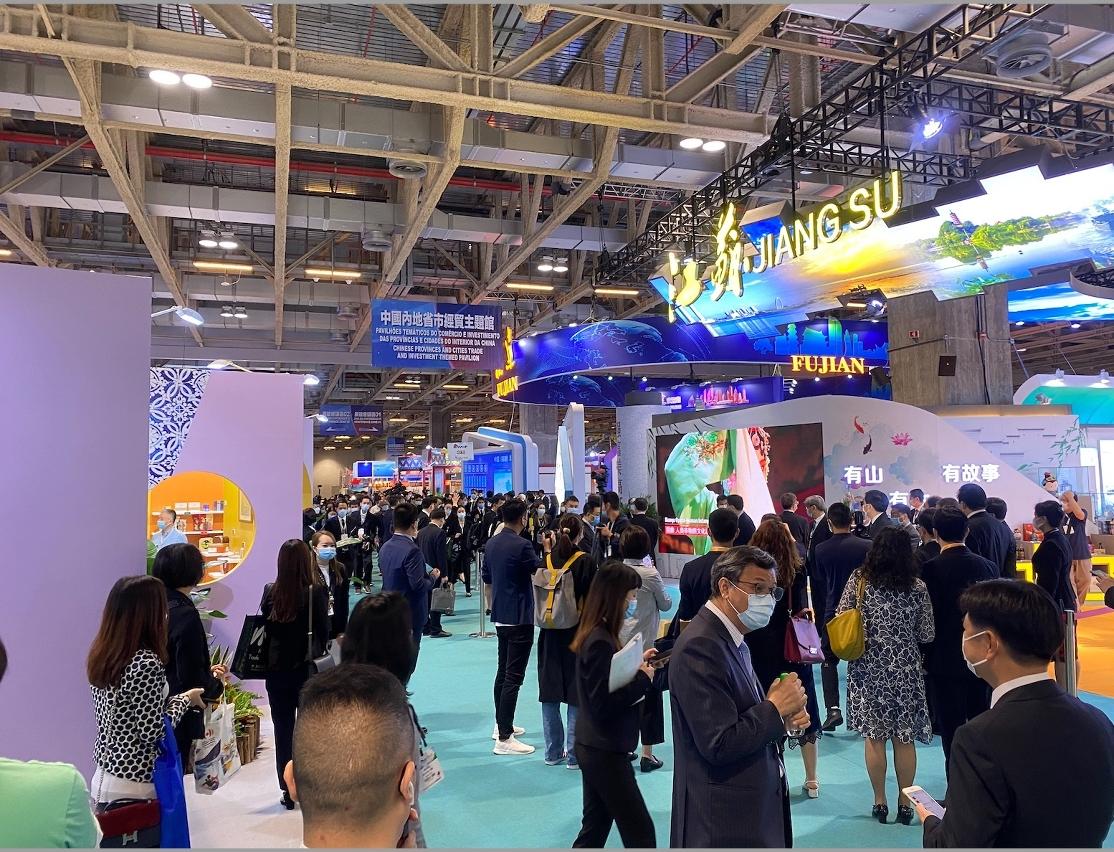 江蘇省政府一直支持本澳舉辦的會展活動