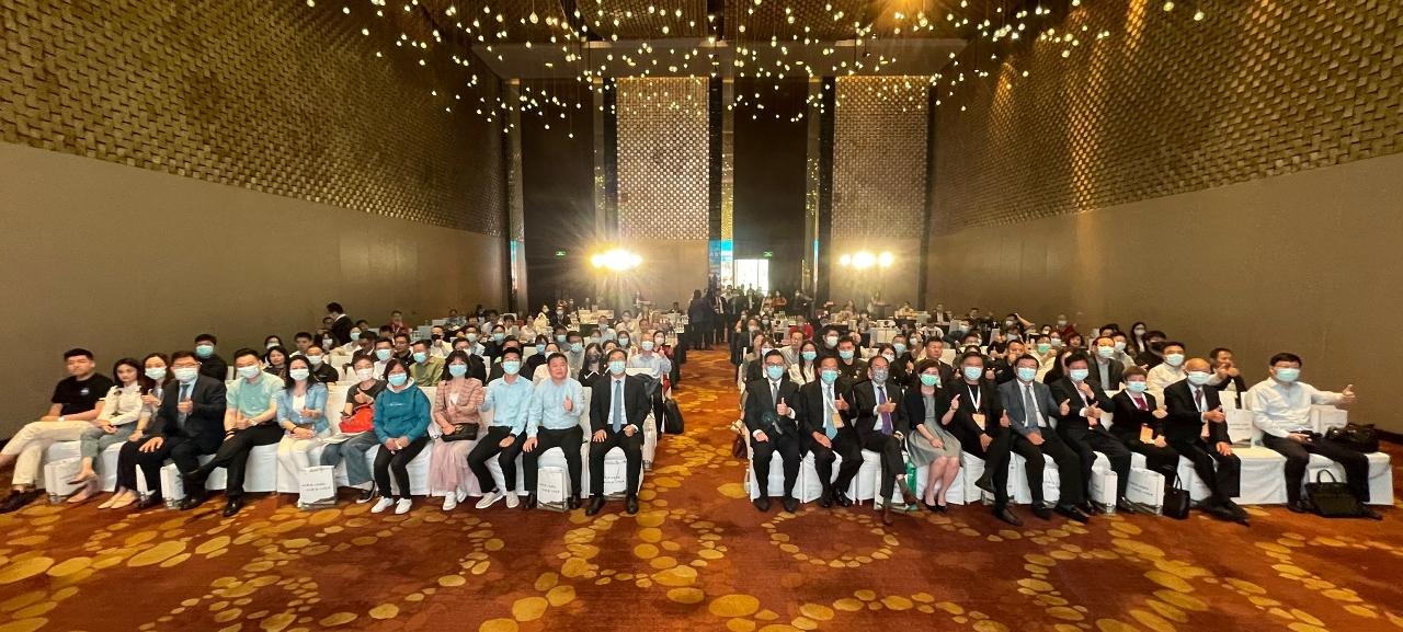"""貿促局舉辦""""寧澳商業配對洽談會"""",期間共安排了90場洽談,逾90位南京及澳門企業家參與。"""