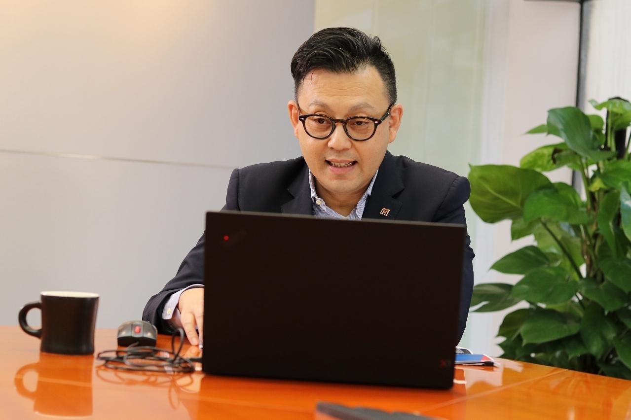 澳門貿易投資促進局主席劉偉明參與會議