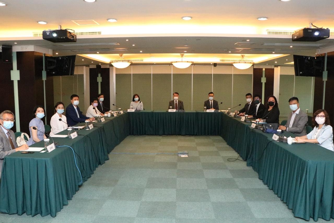 會展業發展委員會舉行2021年第一次平常全體會議