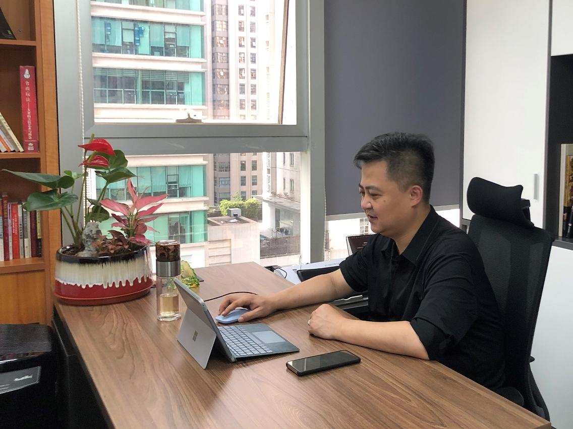 廣東省餐飲服務行業協會秘書長程鋼講解
